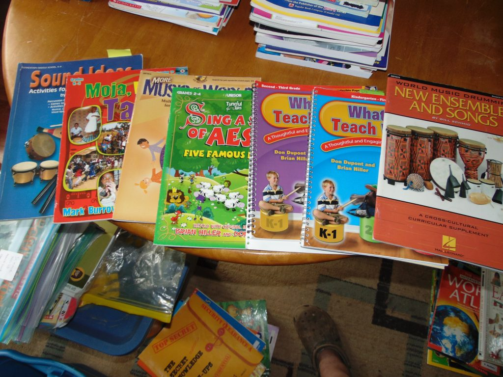 curriculum and books for sale