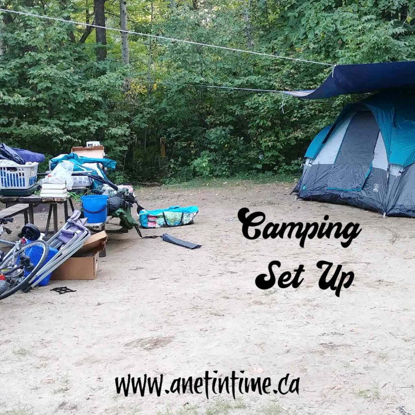 Tents Set up Camping