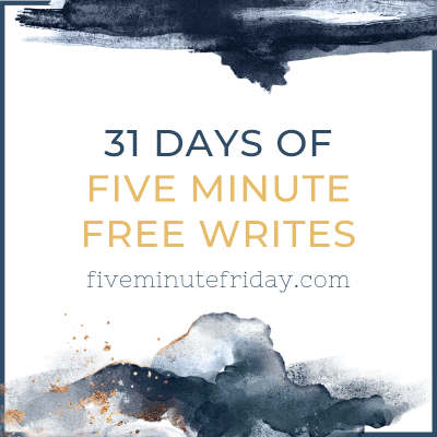 31 days of free writes