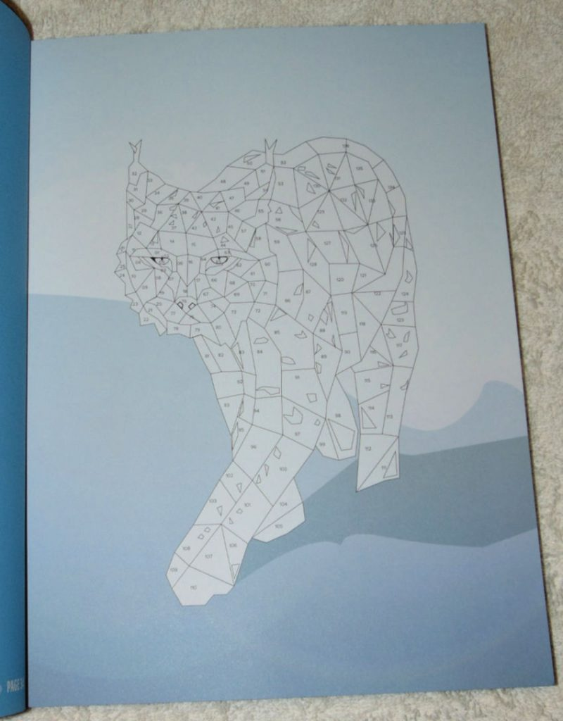 Sticker Mosaics Exotic Animals