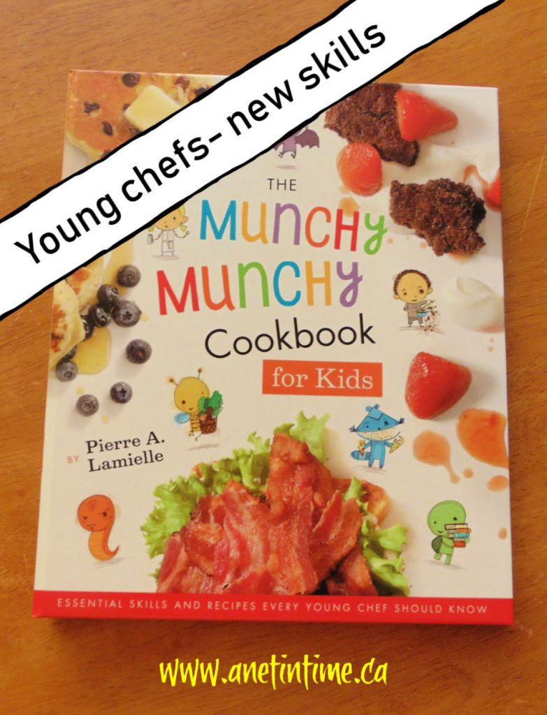 munchy munchy cookbook for kids review