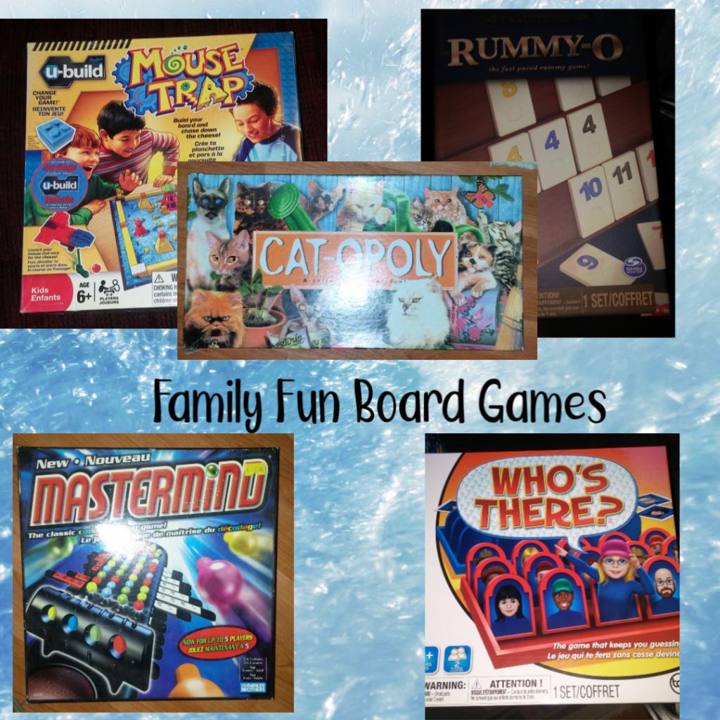 family Fun board games