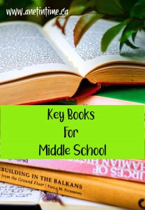 Key books for Middle School