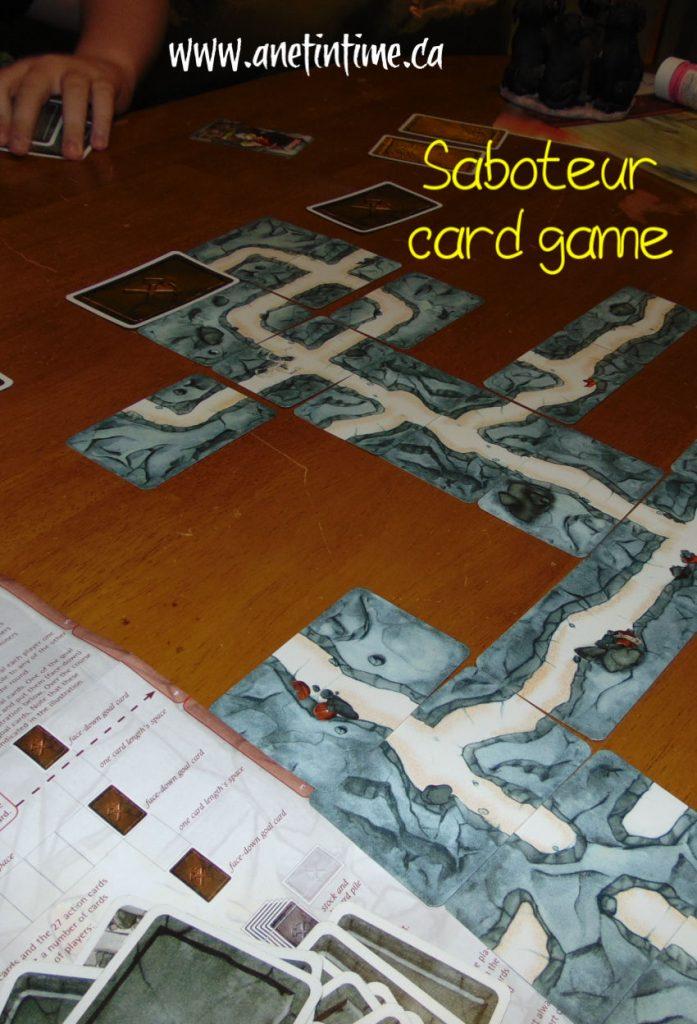 best card games, saboteur