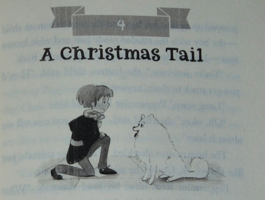 Santa's puppy, chapter illustration
