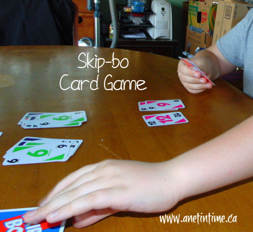 Best card games, picture of skipbo