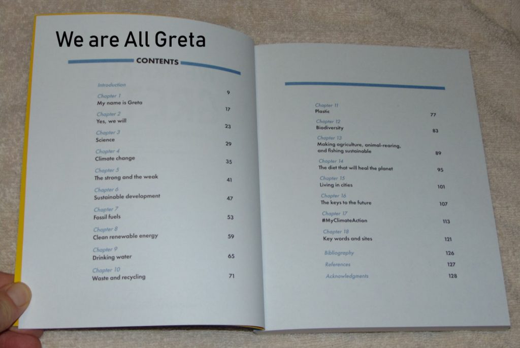 we are all Greta table of contents