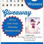 SchoolhouseTeachers.com Giveaway!!!