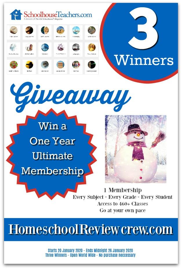 giveaway schoolhouseteachers.com