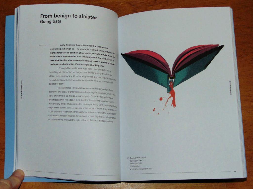 illustration idea book sample page