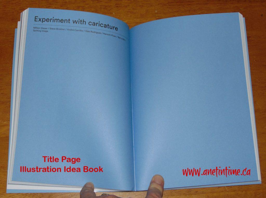 Illustration idea book