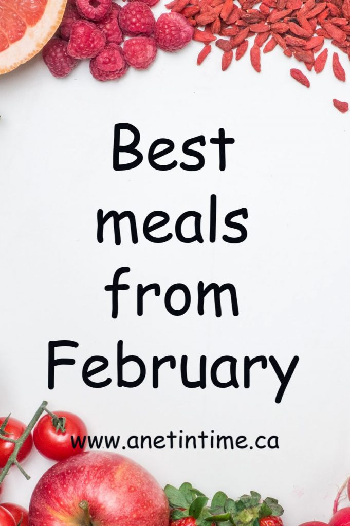 best meals from february