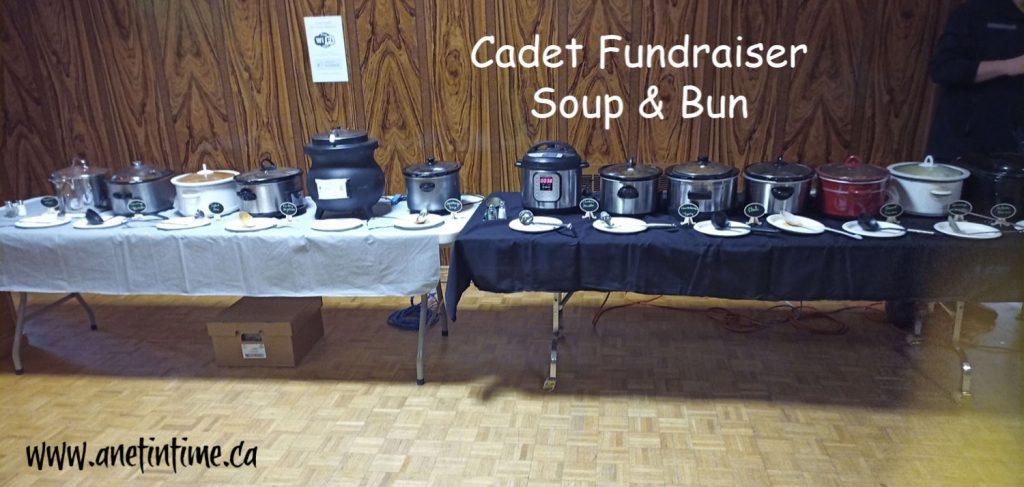 Cadet Fundraiser Soup