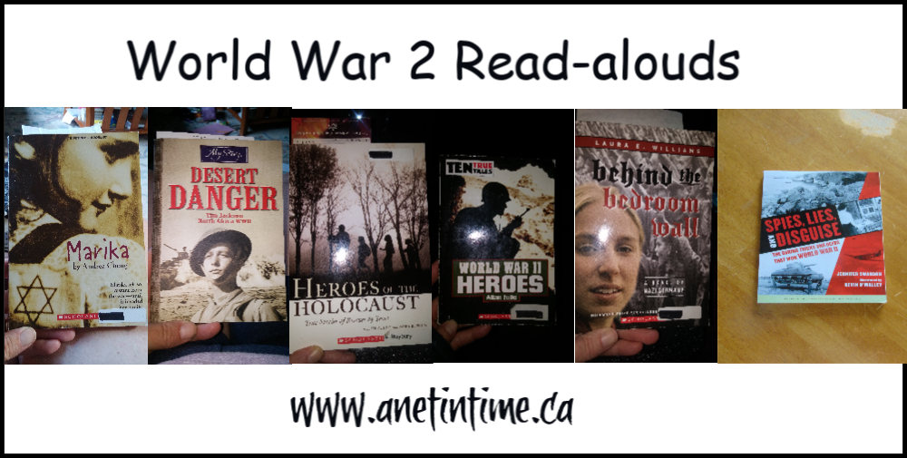 world war 2 read-alouds