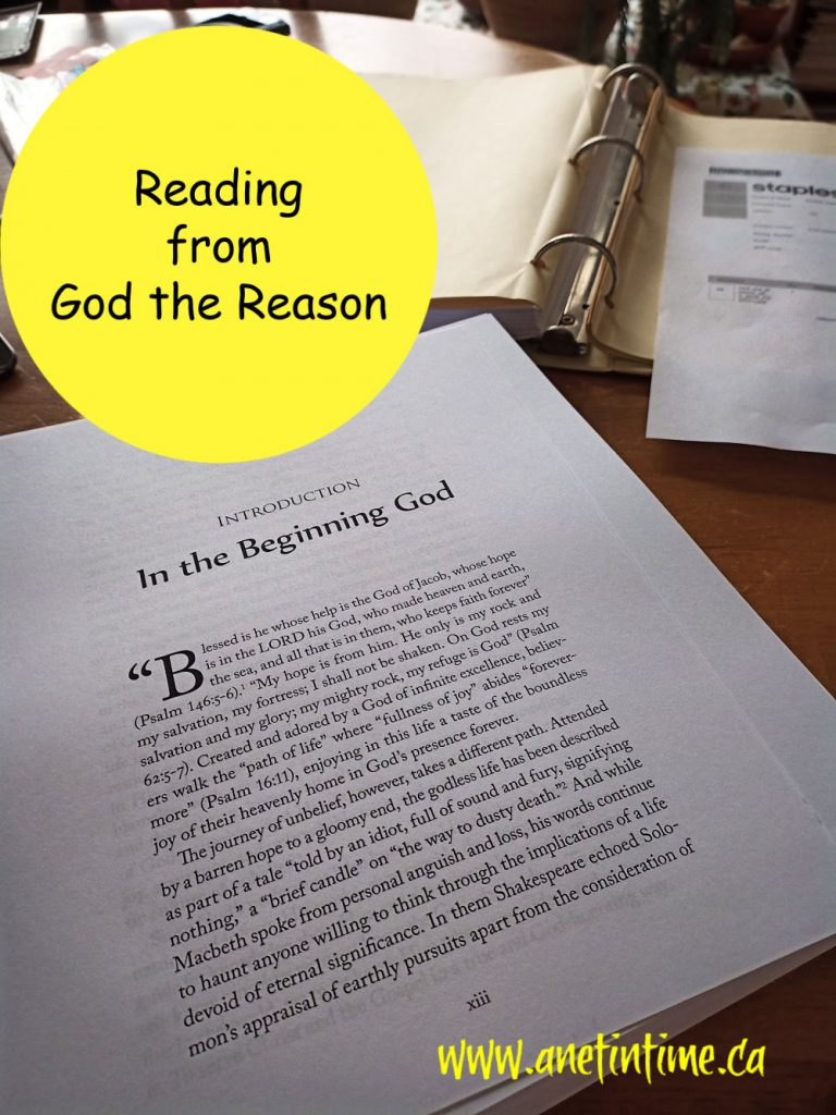 reading from God the Reason