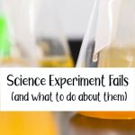 Science Experiment Fails