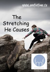 The Stretching he causes