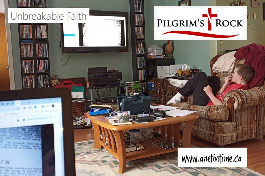 pilgrim's rock - unbreakable faith course