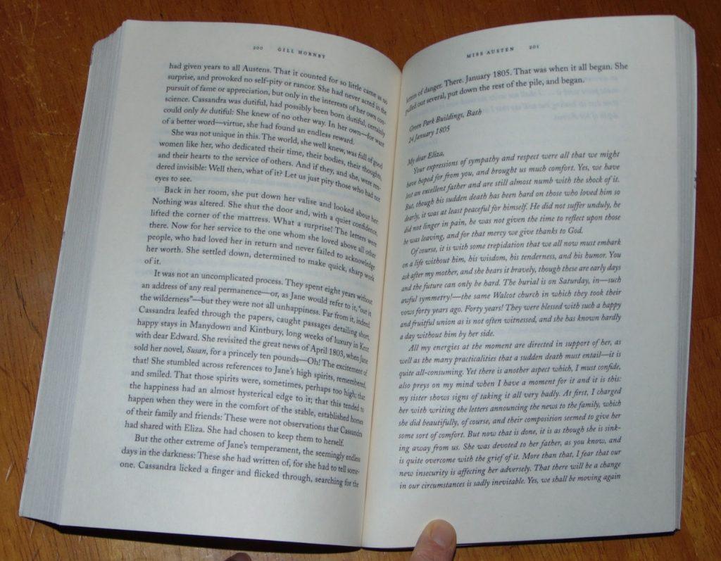Miss Austen: The novel