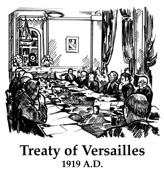 Treaty of Versailles image