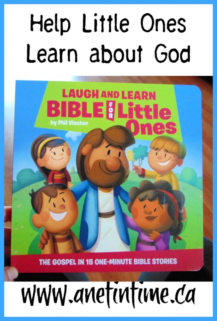 Laugh and Learn Bible for Little Ones contained 13 lessons with fabulous illustrations to help your littlest ones learn about God.