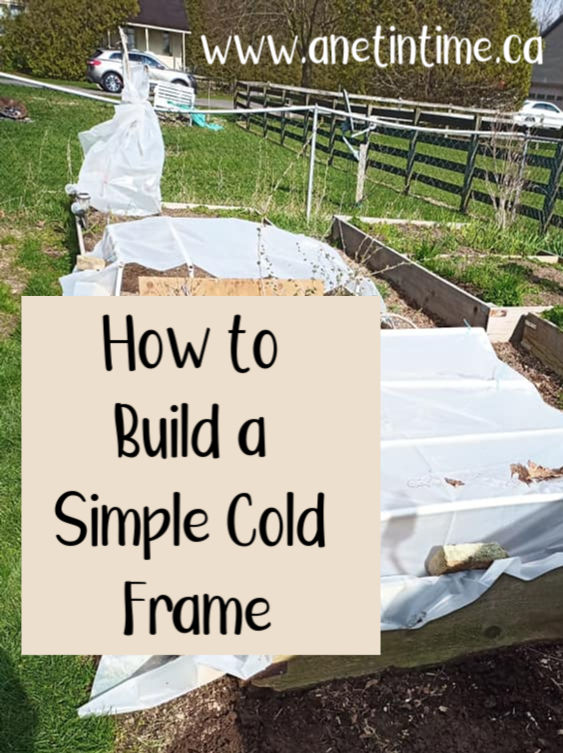 how to build simple cold frame