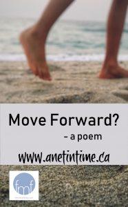 feet walking, text move forward