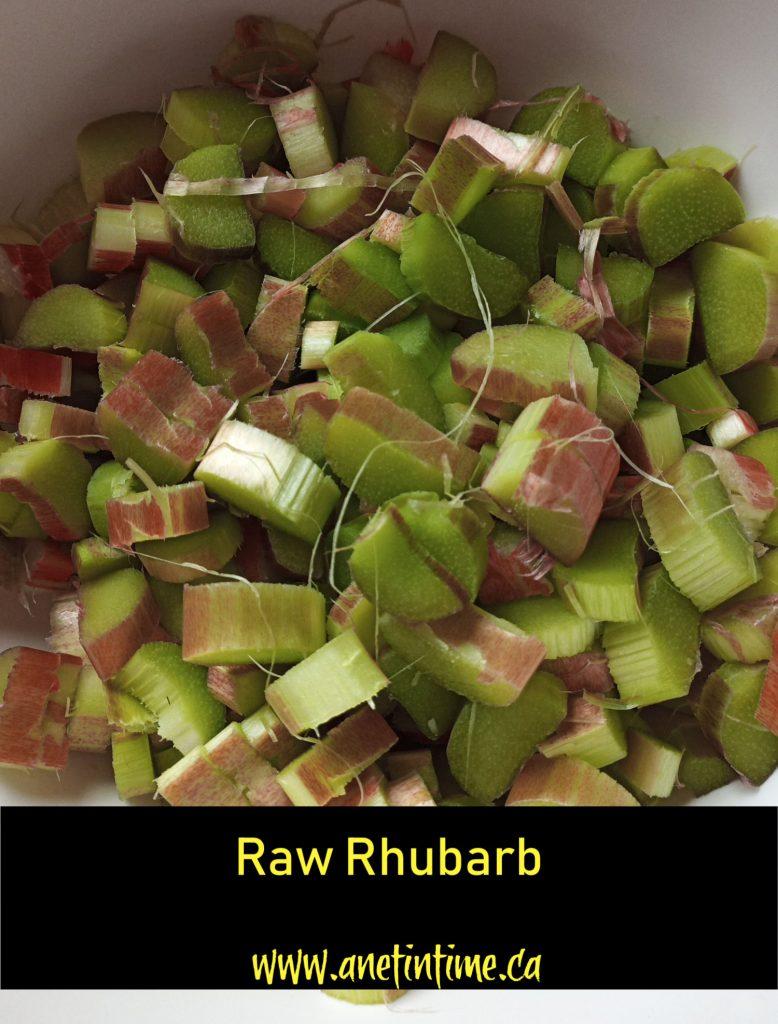 Raw Rhubarb
