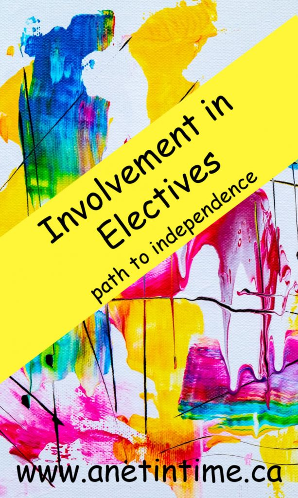 involvement in electives