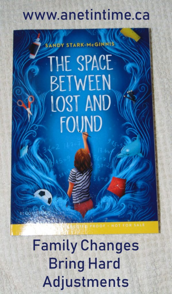 book cover for The space between lost and found