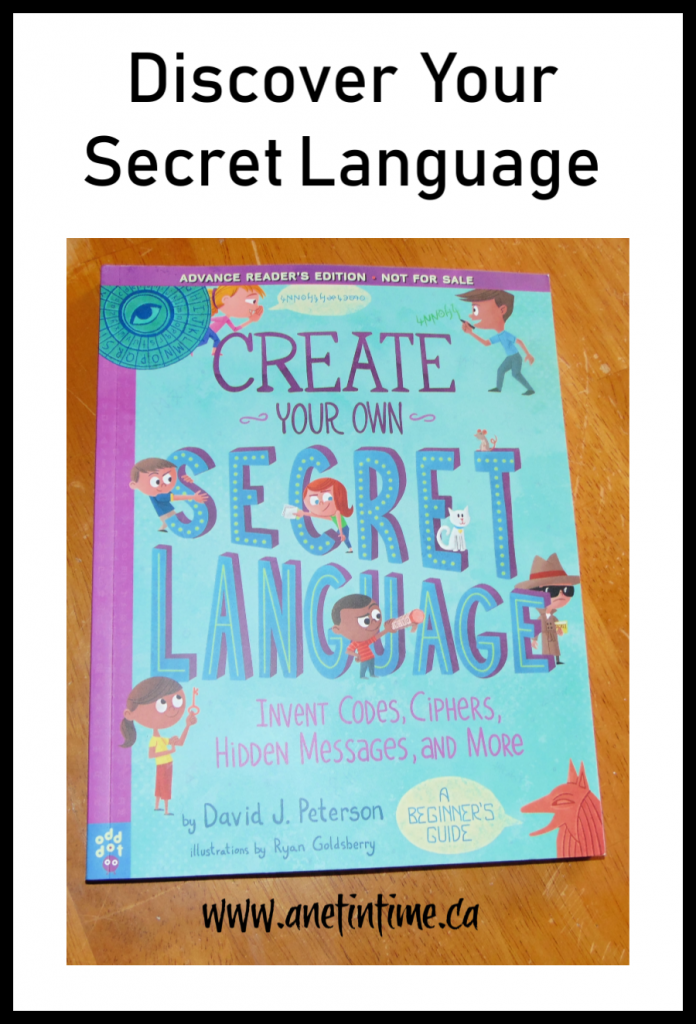 create you own secret language review image