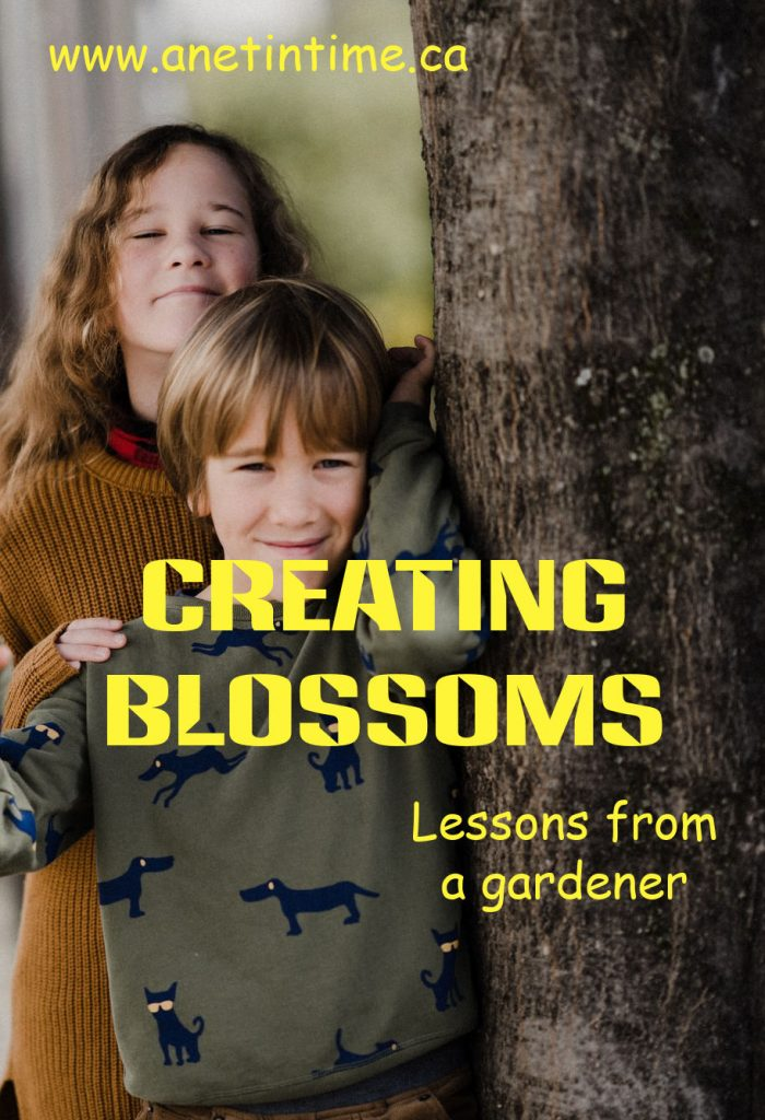 creating blossoms