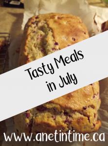 tasty meals in July