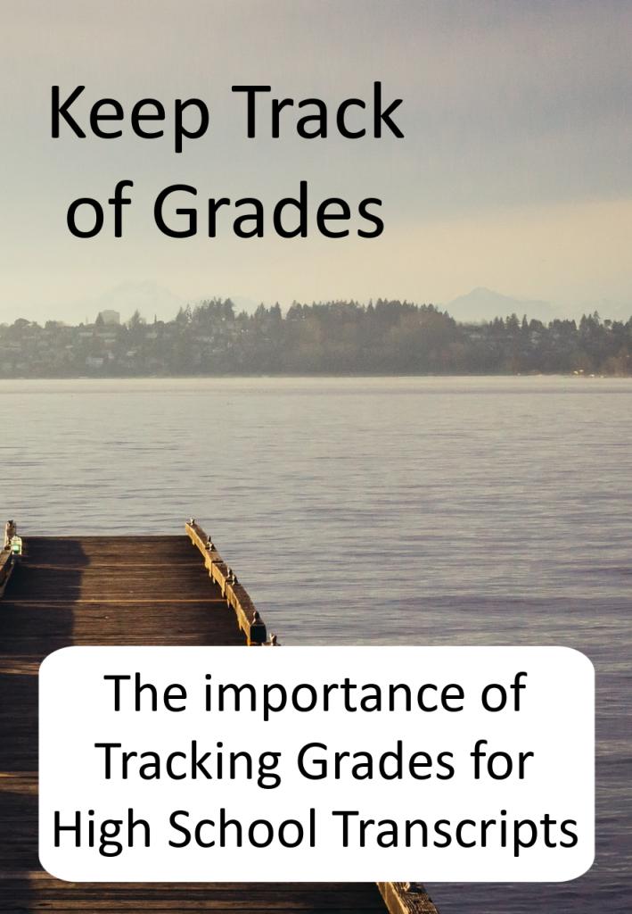 Keep track of Grades