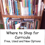 Where to shop for curricula