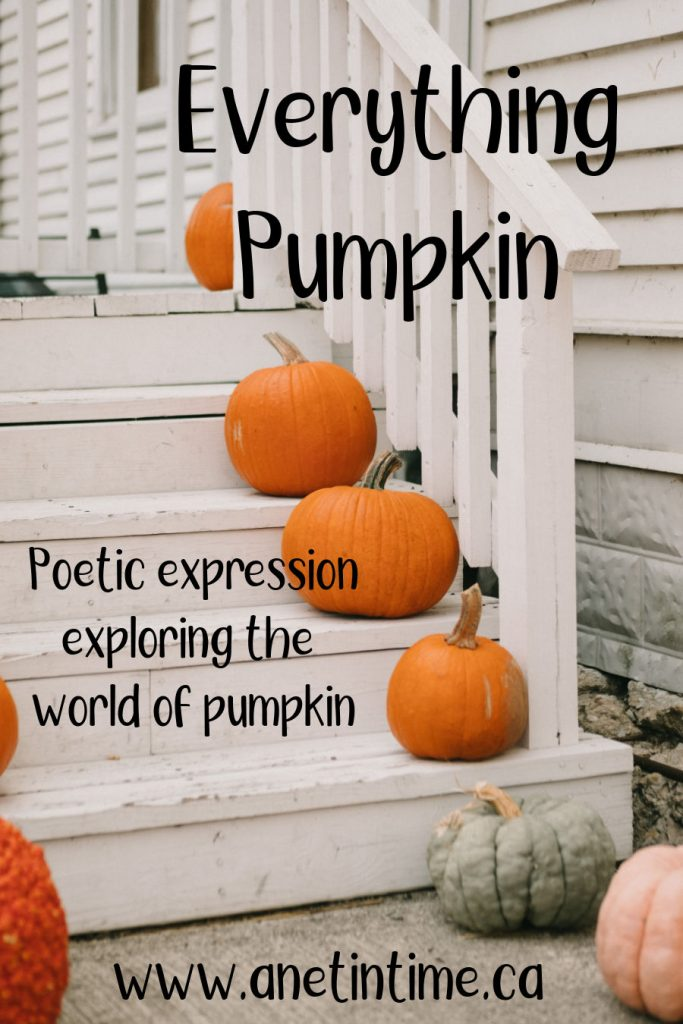 everything pumpkin, pumpkins on white steps