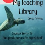 My Teaching Library - Crew Review