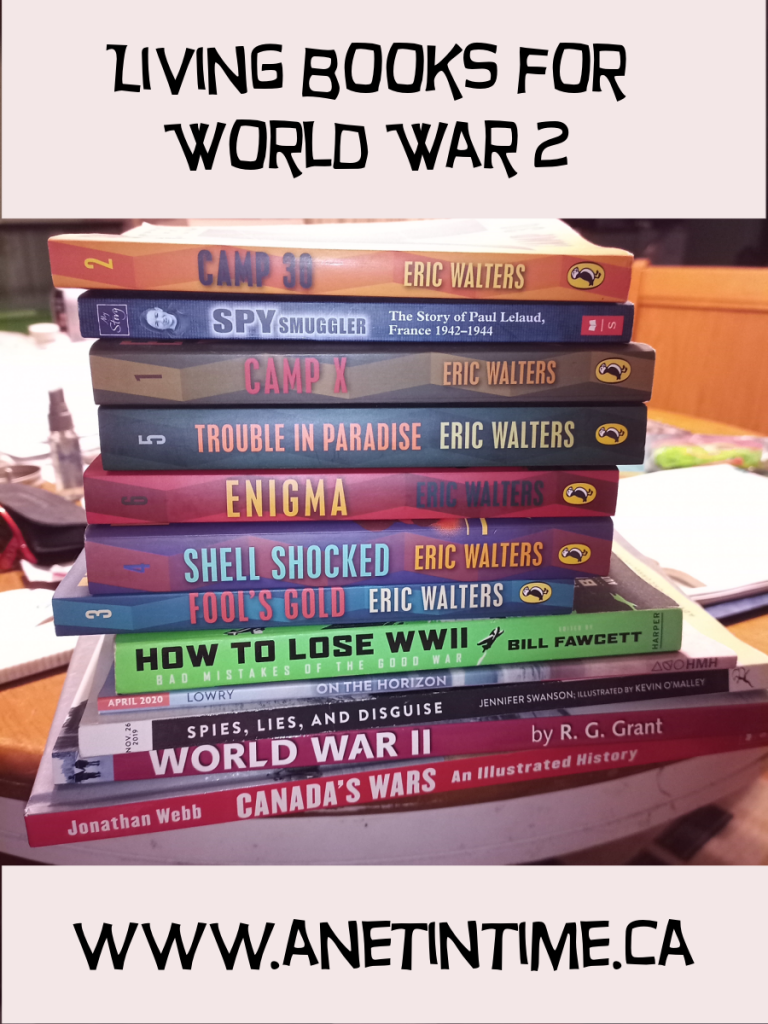 Living books for World War 2