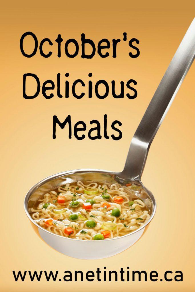 October's Delicious Meals