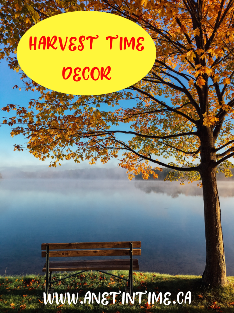 Harvest Time Decor