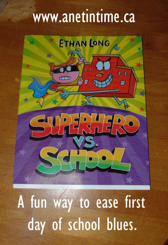 Superhero vs school