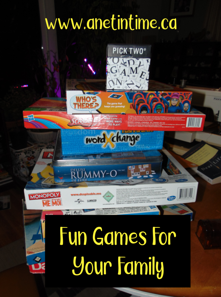 fun games for your family