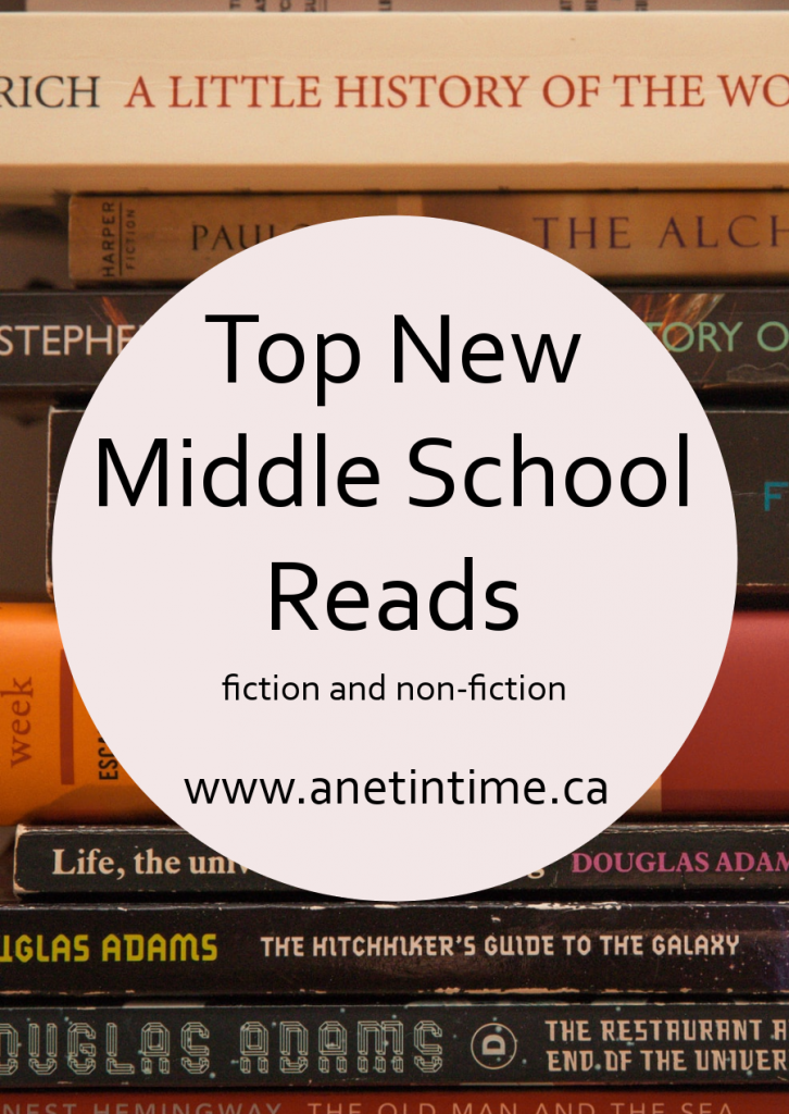 Top New Middle School Reads