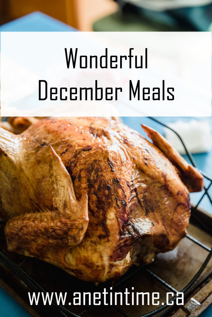 Wonderful December Meals