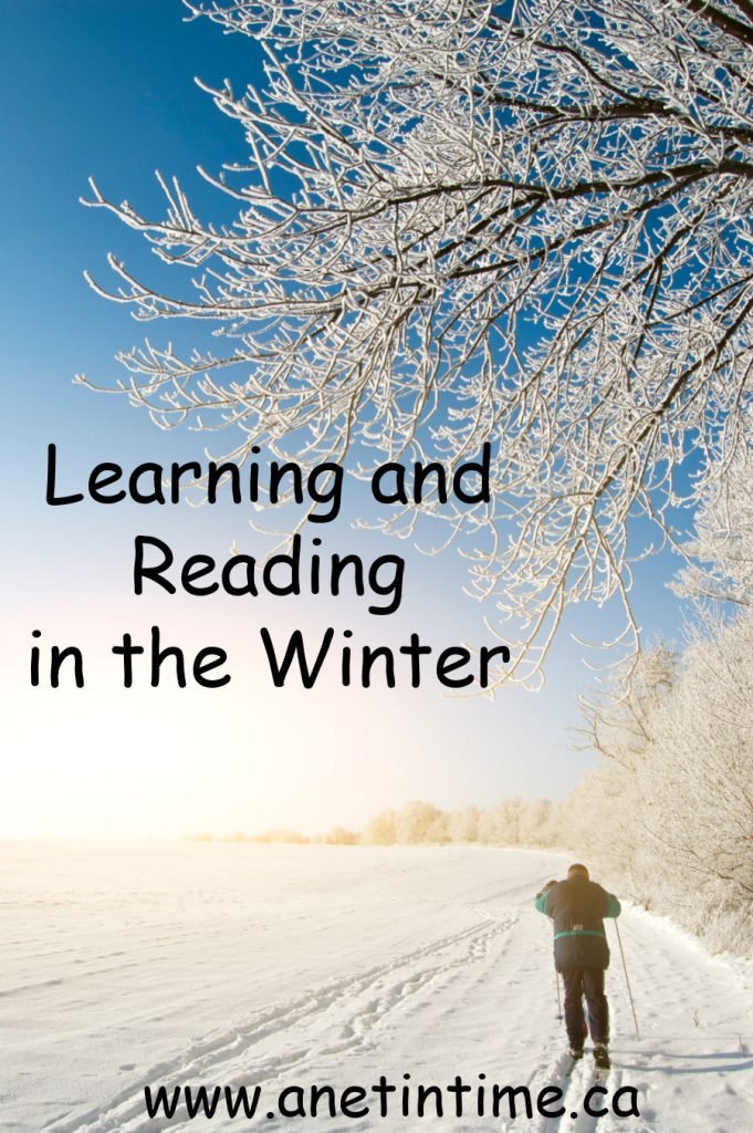 learning and reading in the winter