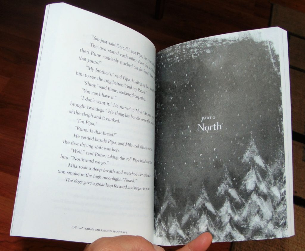 sample page, the way past winter