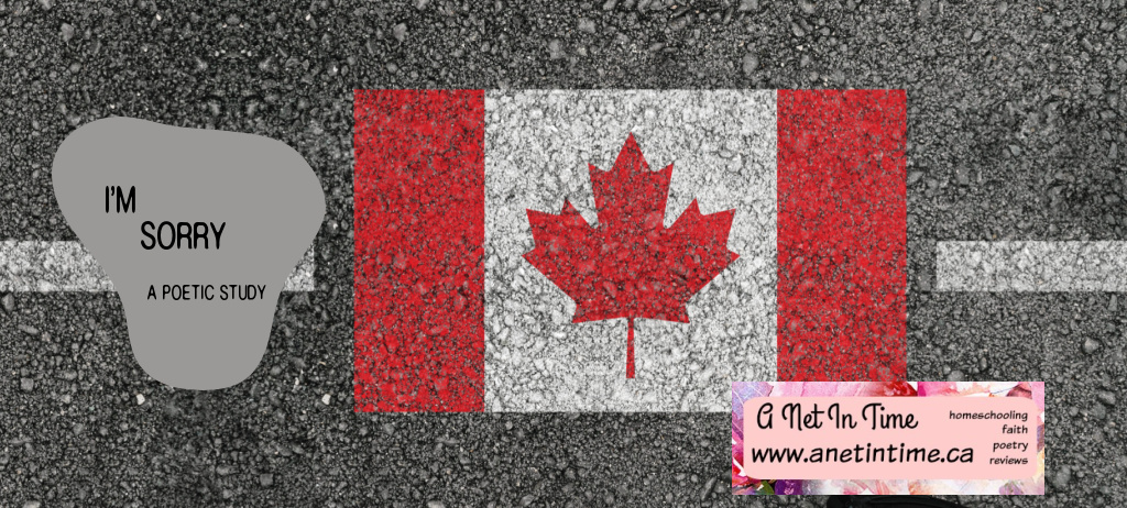 I'm sorry, canada flag on pavement