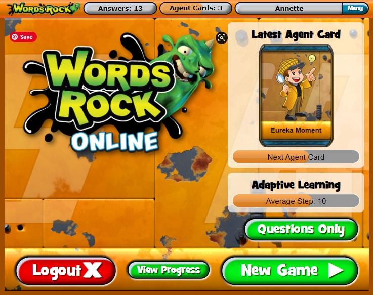 Words Rock Online - EdAlive