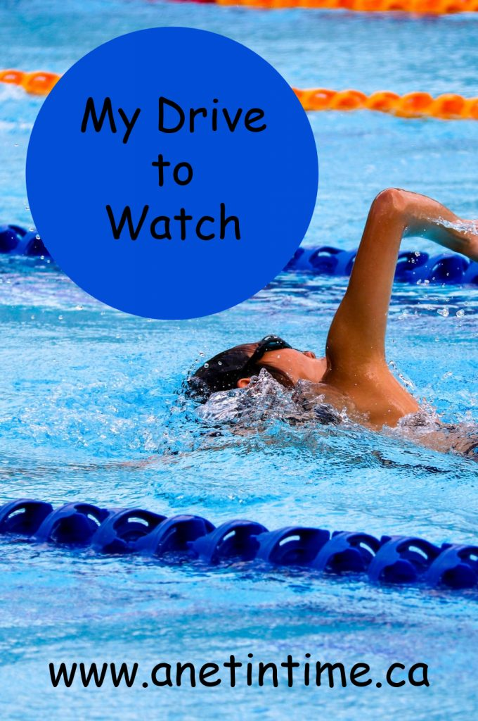 My Drive to watch, person swimming in race