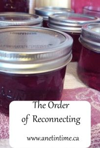 order of reconnecting
